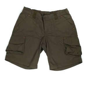 Columbia Women's Shorts Size M W28 Dark Brown
